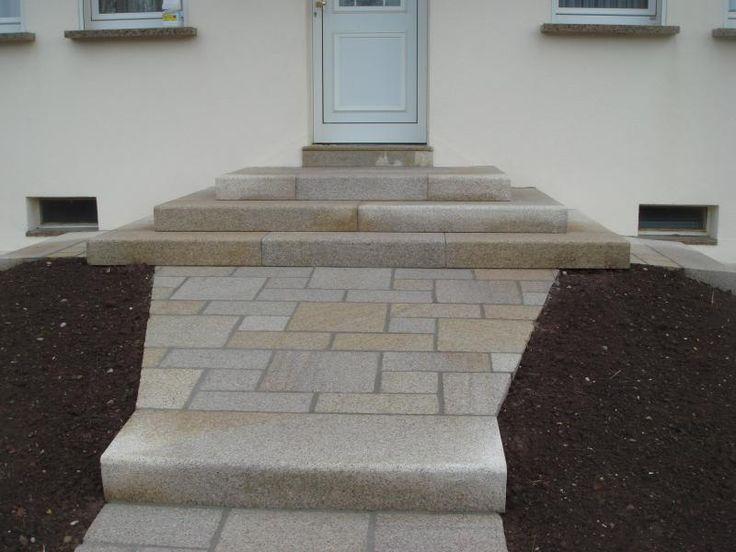 Blockstufen Granit Gelb gestockt auf gesägt - Minéral (ESG)