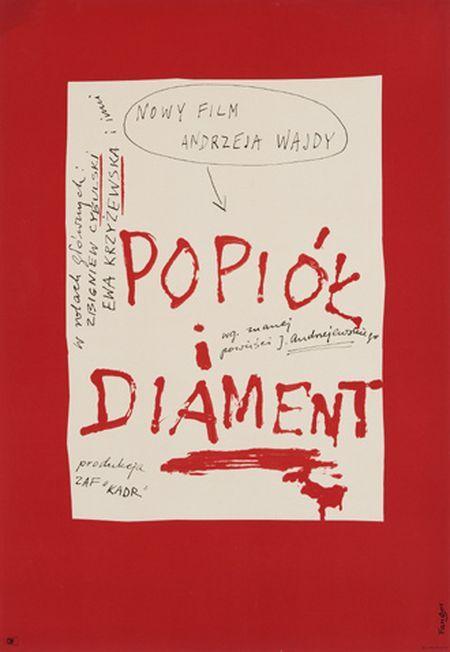 Wojciech Fangor, Popiol i diament - Wajda, 1958