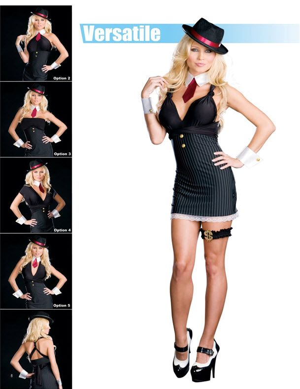 Flappers & Gangsters - Flapper and Gangster Costumes for Women