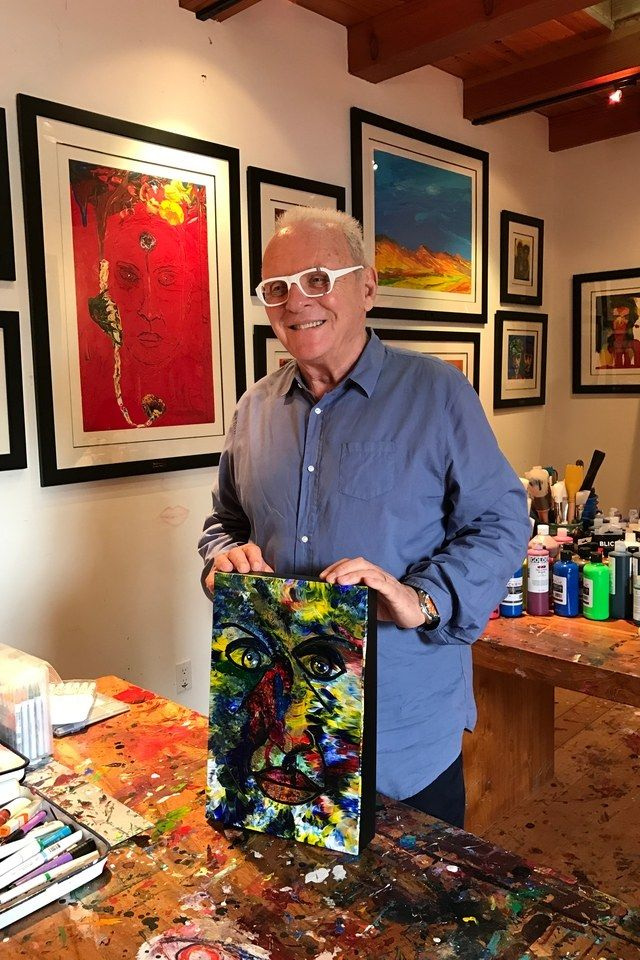 Anthony Hopkins Is Surprised How Popular His Paintings Are Hasn T Been Asked Back Yet For Westworld Season Two Anthony Hopkins Anthony Painting