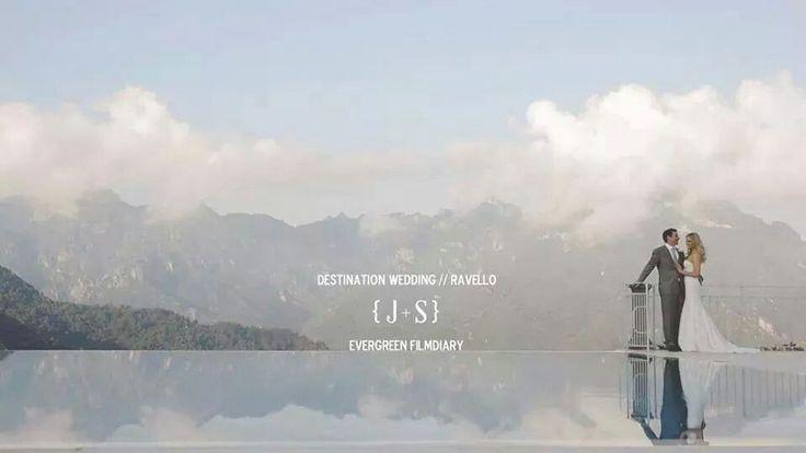 #destinationwedding #ravello #hotelcaruso #weddingvenue #evergreen #amalficoast #italy www.produzionievergreen.com