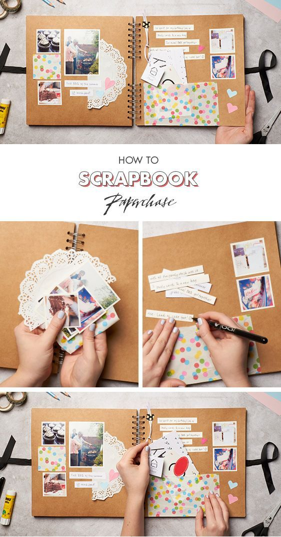 Looking for birthday present ideas? Why not create a scrapbook filled with all of your best memories together? We love this scrapbooking layout, mainl…