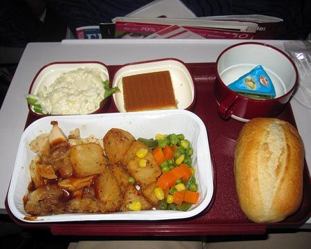 Airline Meal May Have Killed Someone