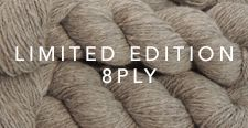 "LIMITED EDITION - 8PLY Baby Alpaca Yarn is created from our cria fleeces. These are ""one-off"" yarns given their nature and cannot be repeated. Baby Alpaca Yarn is superfine with a beautiful soft finish. #criafleeces #AlpacaYarn"