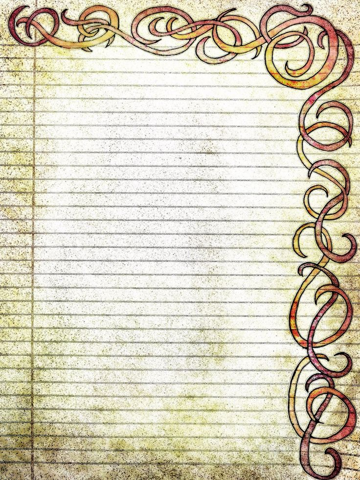 free printable lined paper vintage | Printable Filigree Swirls, Pen and Ink Drawing 8 x 10,JPG Download ...