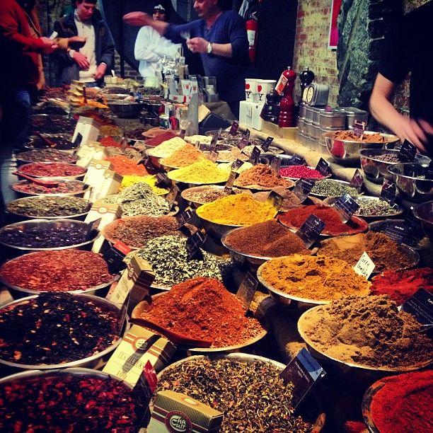 Spice shop at Chelsea market
