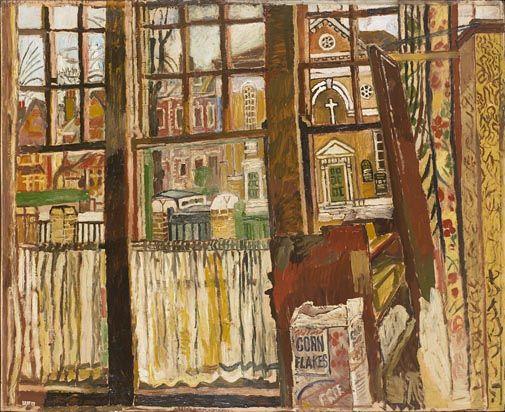 Window, Dartmouth Row, Blackheath 1954-1956 - John Bratby (1928-1992)