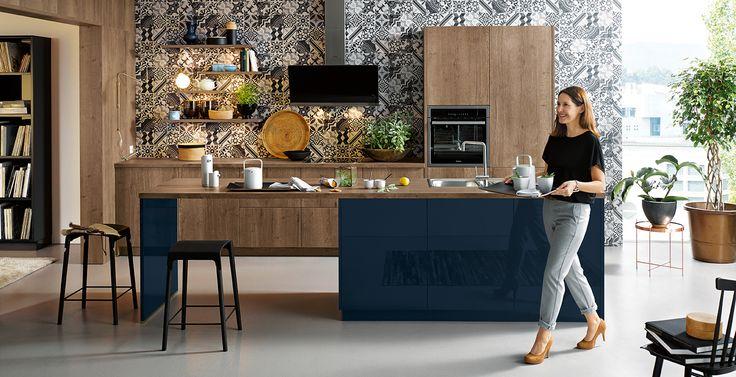 German-Wooden-Kitchen. Schuller German Kitchens - Cremona.