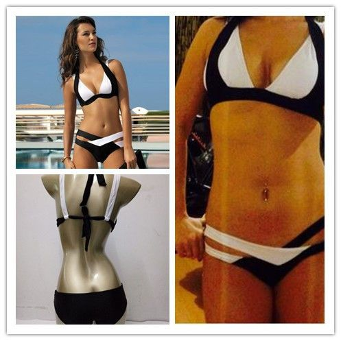 Cheap bikini photo, Buy Quality bikini black directly from China bikini hanger Suppliers: NEWSummer Sexy Patchwork Bikini Woman Swimsuit 2016Bandage Swimwear Best Soft Swimsuits Bathing Suit Black