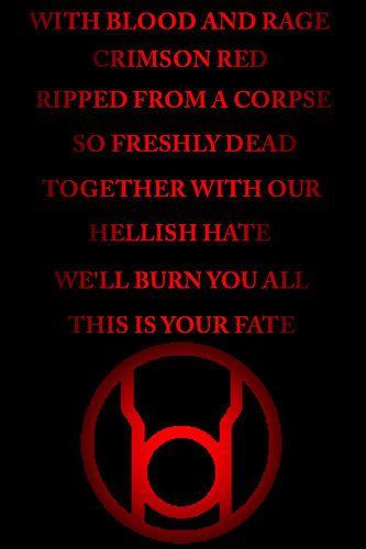 Red lantern, Lanterns and Red on Pinterest Red Lantern Ring Oath