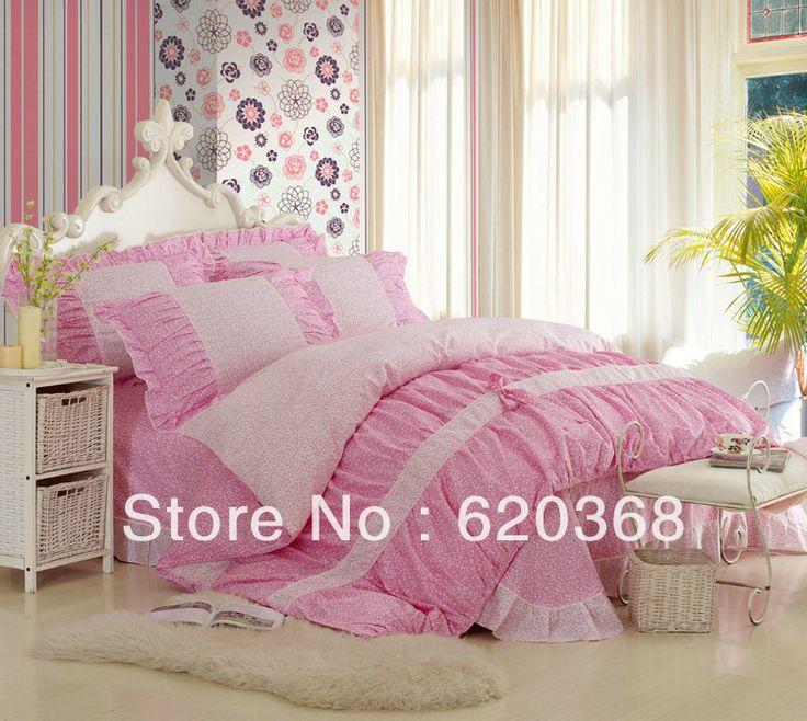 buy 100 cotton romantic cherry blossoms 4pc bedding sets bed