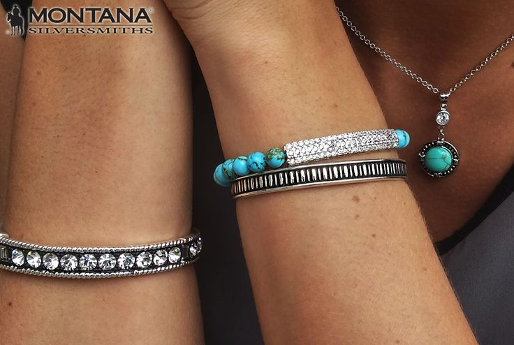Turquoise and Sparkles!! #cowgirlbling #montanasilversmiths
