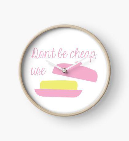 Butter Clock