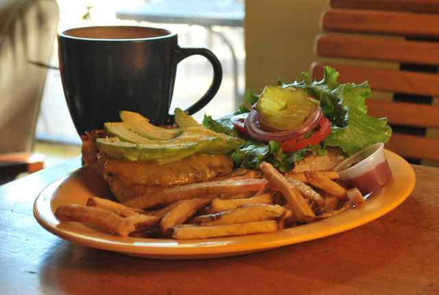 Cherrywood Coffeehouse - waffles and breakfast sandwiches. | Anytime's ...