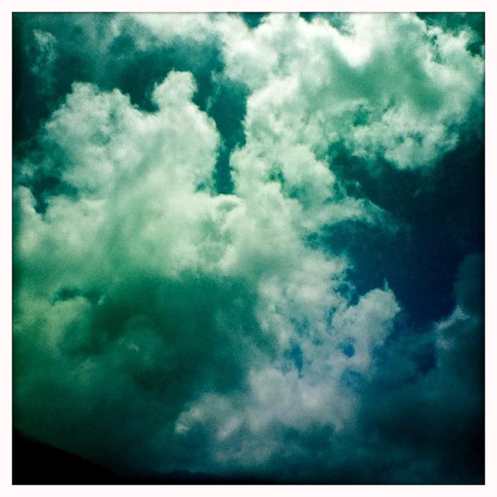 Cuernavaca me dejo fotos de nubes.