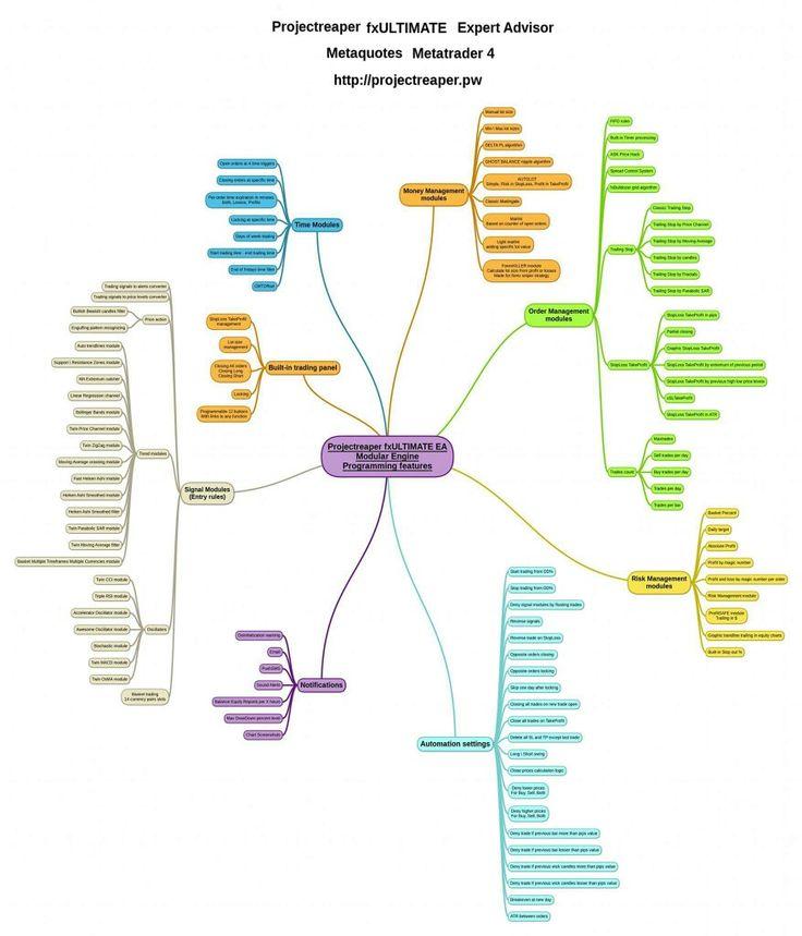 Expert Advisor engine logic scheme  http://projectreaper.pw/en/projectreaper-fx-ultimate/