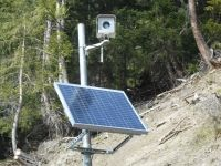 New Meteoeye installation to monitor landslides in la Saxe and Valle d'Aosta, Italy