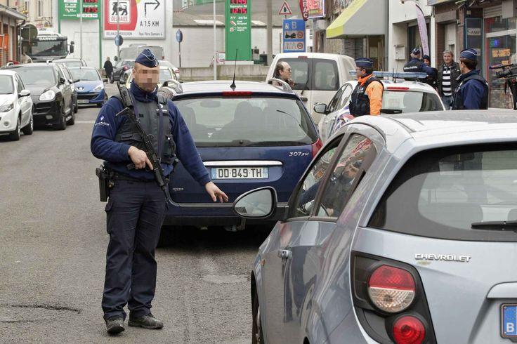 Illustration d'un contrôle à la frontière par la police belge. - M. Libert / 20 Minutes