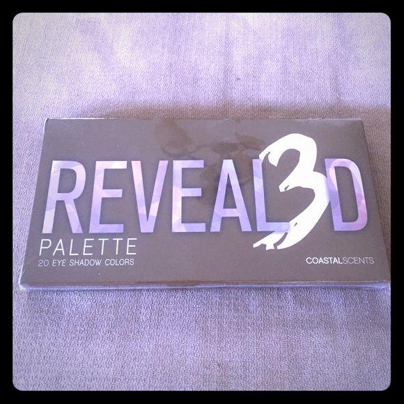Coastal Scents Revealed 3 eyeshadow palette Brand new and wrapped Coastal Scents Makeup Eyeshadow