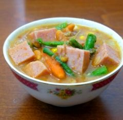 Recipes Made with Spam   island style spam stew spam stew every single household here in hawaii ...