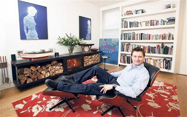 George Clarke's living room