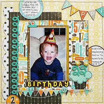 Monthly Scrapbooking Layout Kit Club at The ScrapRoom