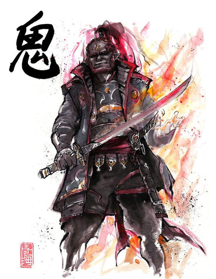The Legend of Zelda Samurai by MyCks Sato