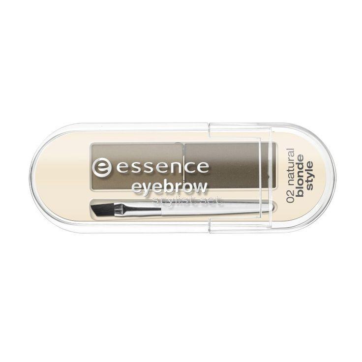 essence - Augenbrauen Set - eyebrow stylist set - 02 natural blonde style - yeux - essence - kosmetik4less.de
