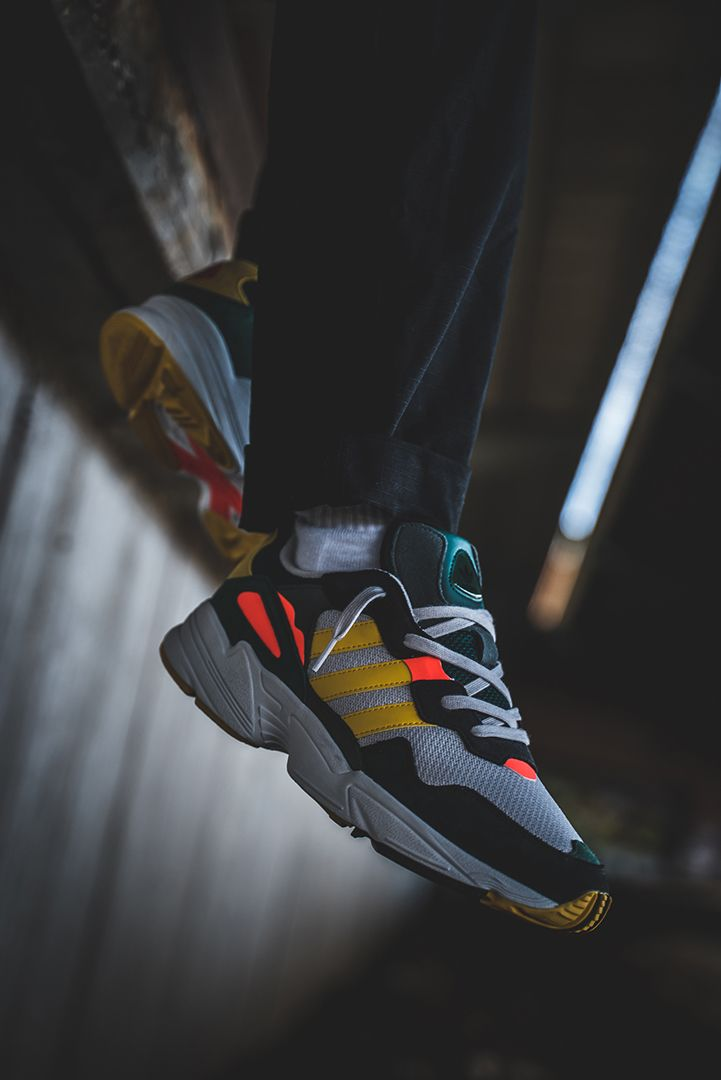 detailed look 83555 ac8b7 Authentic  90s adidas vibes are transformed into a bold, confident look. These  shoes