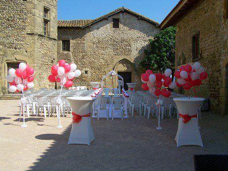 lcher de ballons double fonction dcoration de la crmonie laque et lcher en sortie - Lacher De Ballons Mariage