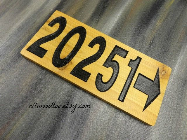 Cedar Wood Sign Home Address Sign Outdoor Signs Street Signs Newlywed Gifts Personalized House Sign House Number Sign Mailbox Numbers by AllWoodToo on Etsy