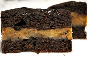 Prajitura cu ciocolata si banane caramelizate | gurmandino.ro