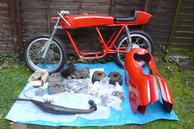 1969 Aermacchi Harley-Davidson 125cc Ala d'Oro Grand Prix Racing Motorcycle Frame no. 180043 Engine no. A57