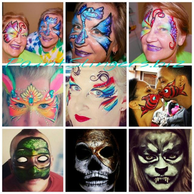 1000 ideas about best face paint on pinterest easy face for Cheap face painting houston