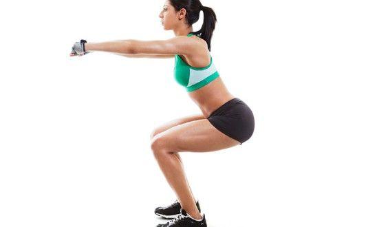 Le squat, un exercice efficace pour muscler cuisses et fessiers