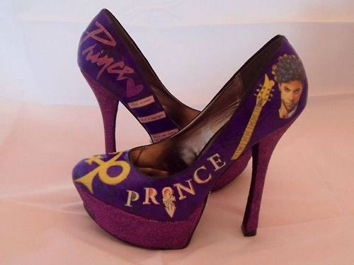 Custom Prince shoes