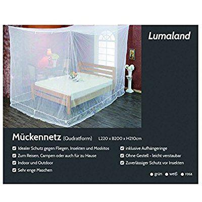 Ideale per proteggersi dalle zanzare quando hai costruito il letto sospeso con il pallet sotto un albero!