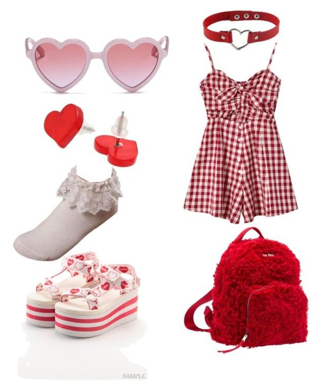 """""""Larme Kei-Lovely theme park"""" by caseyjaneburrell on Polyvore featuring Sons + Daughters, Miu Miu and Chicnova Fashion"""