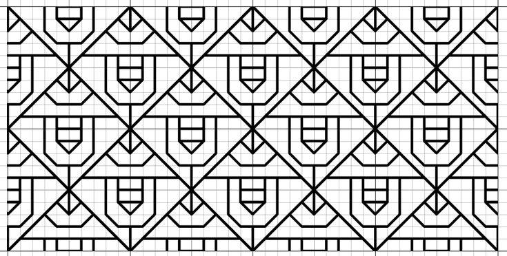 Imaginesque: Blackwork Fill Pattern