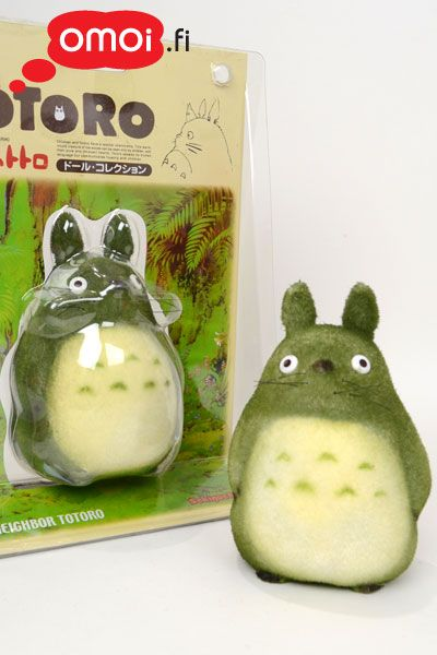 Totoro figuuri: tummanvihreä - 16,00EUR : Omoi.fi, anime, manga ja cult oheistuotteiden verkkokauppa