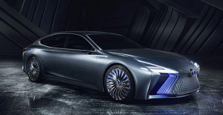 Presentan el concepto Lexus LS  con tecnologías de conducción automática que piensan aplicar en el 2020