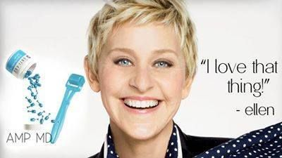 Ellen Degeneres Loves the Rodan+Fields' AmpMD! Featured on The Ellen DeGeneres Show, the AMP MD roller is a non-invasive micro-exfoliating tool, which is clinically proven to safely and effectively amp up your skincare routine. Use it for 1 minute every night, and you WILL see your skin change! This Skin Tool smooths out fine lines and wrinkles while tightening! Contact me to start rolling!