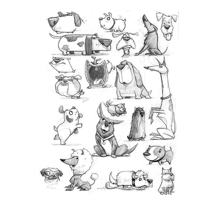 milo cat otis dog coloring pages | Sketches by Russ Cox Smiling Otis Studios | Kinda Sketchy ...
