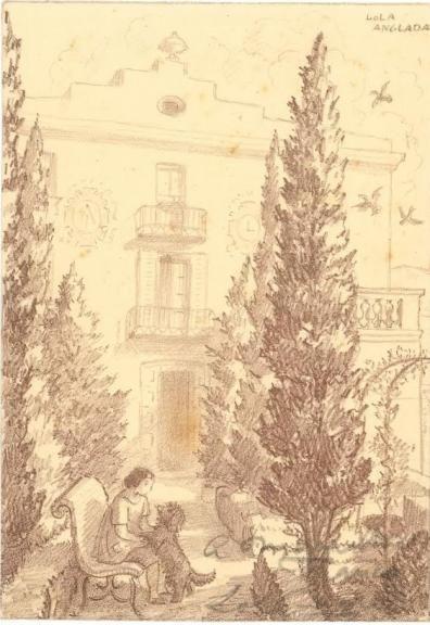 El jardí romàntic de la Lola Anglada - Ajuntament de Tiana