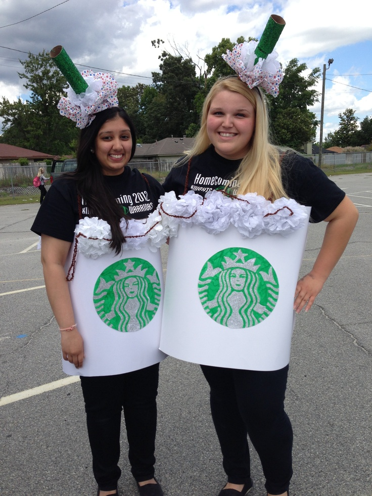 Twin Day Idea  Starbucks Coffee Cups   So Adorbs. 15 best Twin day ideas images on Pinterest