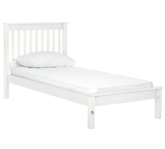 Buy Collection Aspley Single Bed Frame - White at Argos.co.uk - Your Online Shop for Bed frames, Beds, Bedroom furniture, Home and garden.