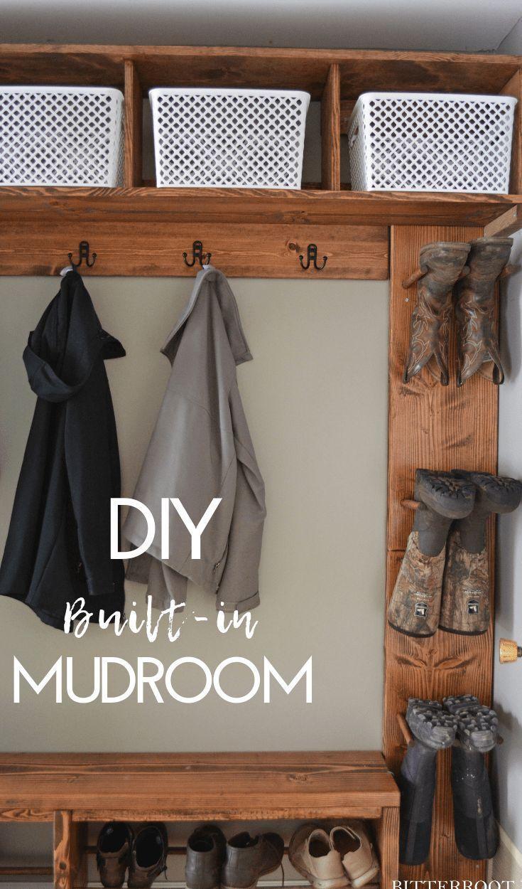 Easy Mudroom Bench With Shoe Storage Diy Mudroom Bench Mud Room Storage Bench With Shoe Storage