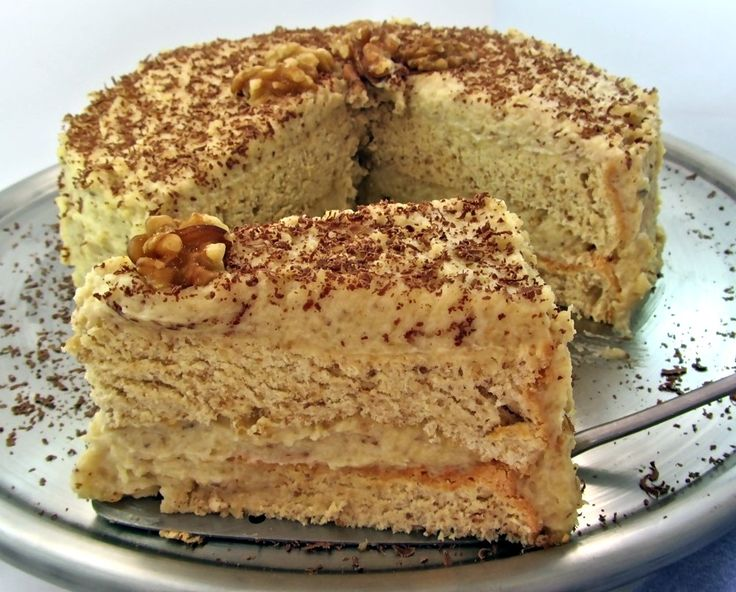 Hungarian walnut torte
