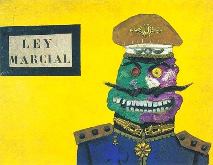Ley marcial (1964) Antonio Berni