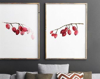 Poppies Watercolor Painting Gift Idea. Red Flowers Giclee Art Print Home Decor. Living Room Decor Large Poster. Poppy Illustration.   Type of paper: Prints up to (42x29,7cm) 11x16 inch size are printed on Archival Acid Free 270g/m2 White Watercolor Fine Art Paper and retains the look of original painting. Larger prints are printed on 200g/m2 White Semi-Glossy Poster Paper.  Colors: Archival high-quality 10-cartridge Canon Lucia Pigment Inks with a droplet size of 4.0pl and chroma optimizer…